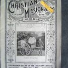Antqiue 1904 The Christian Mission Home Foreign Dayton Ohio Church EX M