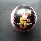 1996 Caring Team 5th Anniv Baseball Cecil Field & Barry Larkin Fac Autographs