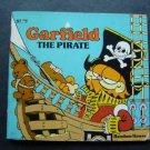 Garfield the Cat The Pirate Book  by Jim Davis Random House 1982
