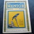 The Mentor Magazine August 1924 Vintage Ads Thomas Moran Gravure Prints Birds