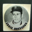 "RARE 1960's Vintage Eddie Bressoud Boston Red Sox Pin 1 3/4"""