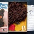 Pom Pom Cuddle Bear Make Your Own Cuddly Animal Pet Craft Kit w Box 1978 Pastime