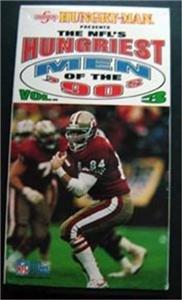 NFL's Hungriest Men of the '90's Vol 3 Video VHS 1992