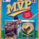 MVP BB 1990 Score Card & Pin Cardinals Todd Zeile RC