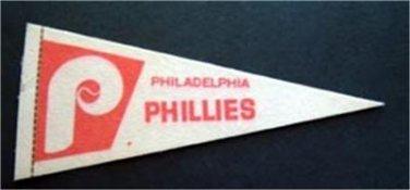 """Philadelphia Phillies Mini Baseball Pennant 9"""""""