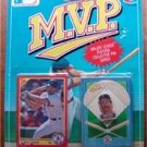 MVP BB 1990 Score Card & Pin Red Sox Wade Boggs