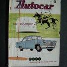 Sept 5 1958 Autocar Magazine Ford Zepher Cowdray Park