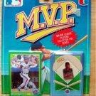 MVP BB 1990 Score Card & Pin NY Mets Howard Johnson