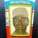RARE 1980 Montreal Expos Steve Rogers Plastic Baseball Cup M Black & Son Canada