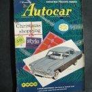 Dec 5 1958  Autocar Magazine Ford Zodiac