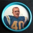 1962 Salada Junket Football Coin #137 Dainard Paulson New York Titans