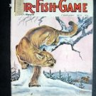 FEB 1973 FUR-FISH-GAME Mountain Lion Cover Johnson  Fish Hunt Outdoor Sport