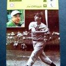 1977-1979 Sportscaster Card Baseball Joe DiMaggio NY Yankees 02-08