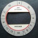 Cadaco All-Star Baseball Game Disk Jim O'Toole Pitcher