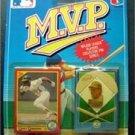 MVP BB 1990 Score Card & Pin Oakland Athletics Rickey Henderson 1st Edition