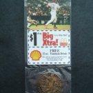 2000 McDonalds St Louis Cardinals Baseball Bronze Coin & Card Mark McGwire RARE