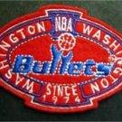 "Washington Bullets Basketball NBA Cloth Oval Patch 3 1/4"""