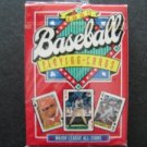 1991 Deck of Major League All Star Baseball Playing Cards Mint Sealed 56 Cards