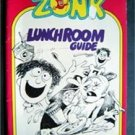 Zonk Magazine Lunchroom Guide 1980 Humorous Cartoon Rare