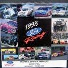 Vintage 1998 FORD RACING Calendar