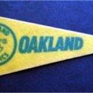 "Oakland Athletics Mini Baseball Pennant 9"""