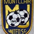"Montclair United Soccer Club Cloth Patch 4"""
