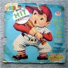 Big Hit Record Baseball 45 RPM Kids Record 1957