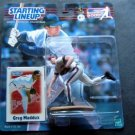 Baseball 2000 Greg Maddux Atlanta Braves Starting Lineup SLU Figure MOC