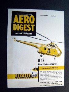 January 1950  Sikorsky Aircraft Adv Proof  Aero Digest