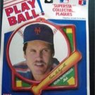 1990 NY Mets Baseball Play Ball Plaque K McReynolds