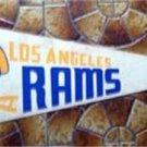Vintage Los Angeles Rams NFL Football Pennant