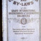 1936 Constitution & By Laws Grand International Brotherhood Locomotive Engr Book