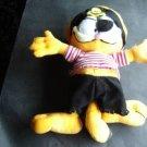 "Garfield the Cat Pirate Plush Stuufed Figure Paws 12"""
