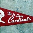 "Vintage 1970s NFL Football Mini Pennant 12"" The St. Louis Cardinals"