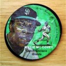 """1971 Mattel Instant Replay Record 2 1/2"""" Baseball Willie McCovey SF Giants G"""
