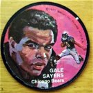"""1971 Mattel Instant Replay Record Disc 2 1/2"""" Football Gale Sayers Chicago Bears"""