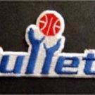 "Washington Bullets Basketball NBA Cloth Patch 3 3/4"""
