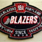 Portland Trailblazers Basketball NBA Cloth Oval Patch 3 1/2""