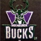 Milwaukee Bucks NBA Basketball Logo Patch Die Cut 2 1/2""