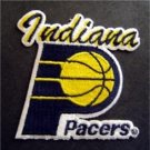Indiana Pacers Basketball NBA Cloth Die Cut Patch 3""
