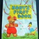 Baby's First Book Linen 1959 Platt & Munk