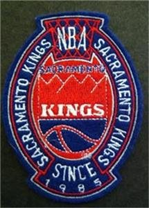 Sacramento Kings Basketball Cloth Crest Shield Patch 4""