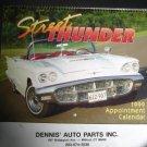 Vintage 1999 Street Thunder Car Calendar ~Dennis Auto Parts Milford, Ct