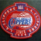 """Los Angeles Clippers Basketball NBA Cloth Oval Patch 3 1/4"""""""