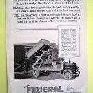 1930s Federal Truck Magazine Tear Sheet Advertisement