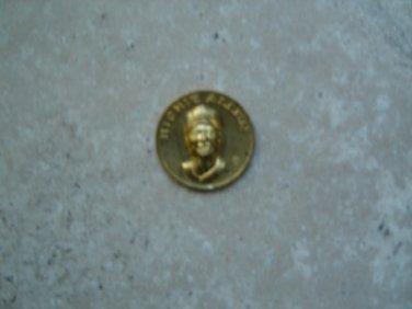 "1869-1969 Citgo Baseball Centennial Series Metal Coin 1"" Diameter Richie Allen"