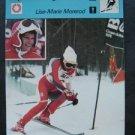 1977-1979 Sportscaster Card Alpine Skiing Lise-Marie Morerod 09-24