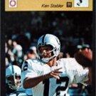 1977-1979 Sportscaster Card Football Ken Stabler Oakland Raiders 17-15
