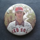 """1970's Boston Red Sox Pin BOB STANLEY  3"""" with Facsimilie Autograph"""