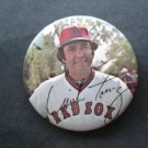 "1970's Boston Red Sox Pin MIKE TORREZ  3"" with Facsimilie Autograph"